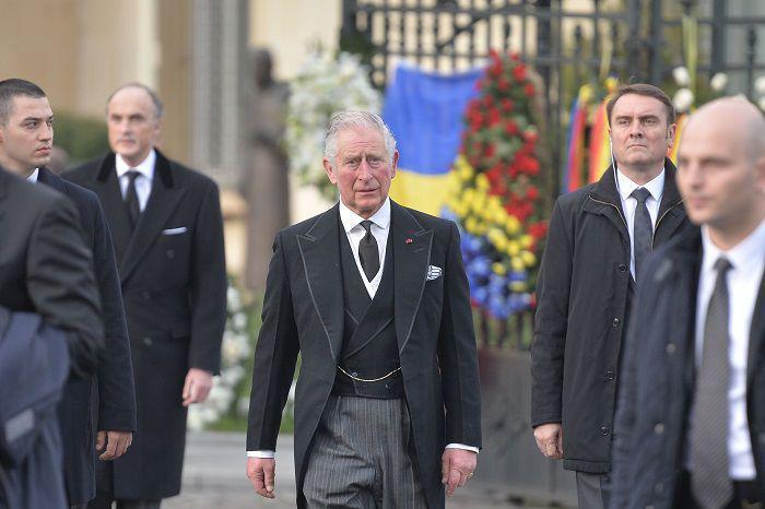 Prințul Charles, momente emoționante la funeraliile Regelui Mihai I al României