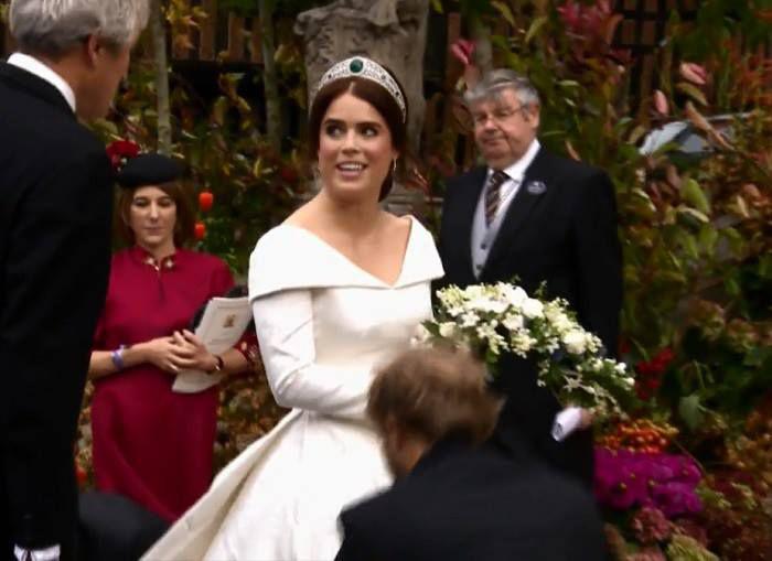 Cine a creat rochia de mireasă a Prințesei Eugenie